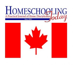 Homeschooling Today Magazine Print Subscription - Canada