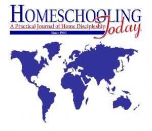 Homeschooling Today Magazine Print Subscription - International