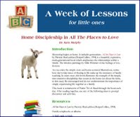 Week of Lessons - All the Places to Love