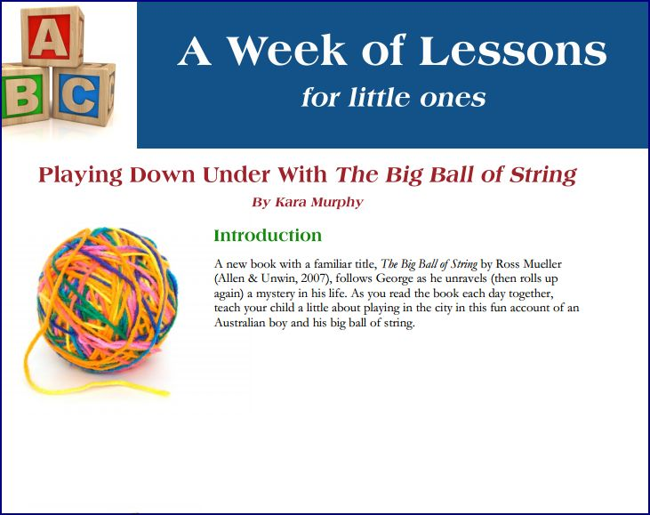Week of Lessons - The Big Ball of String