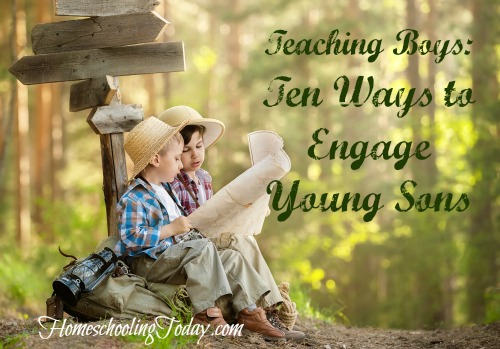 Teaching Boys: Ten Ways To Engage Young Boys