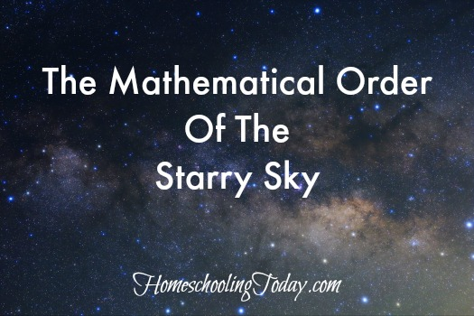 Mathematical Order Of The Starry Skies