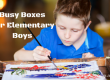 Busy Boxes For Elementary Age Boys