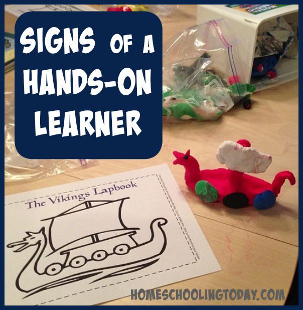 signs of a hands-on learner