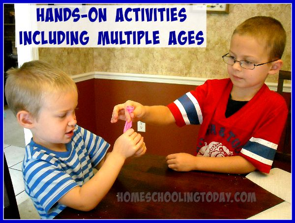 Hands-On Activities for Multiple Ages- Homeschooling Today Magazine