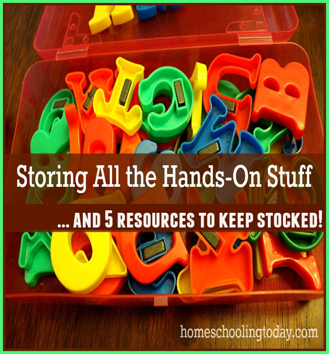 Storing all the hands-on stuff