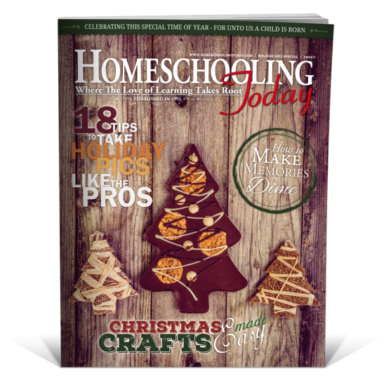 FREE Homeschooling Today Magazine Holiday Issue!