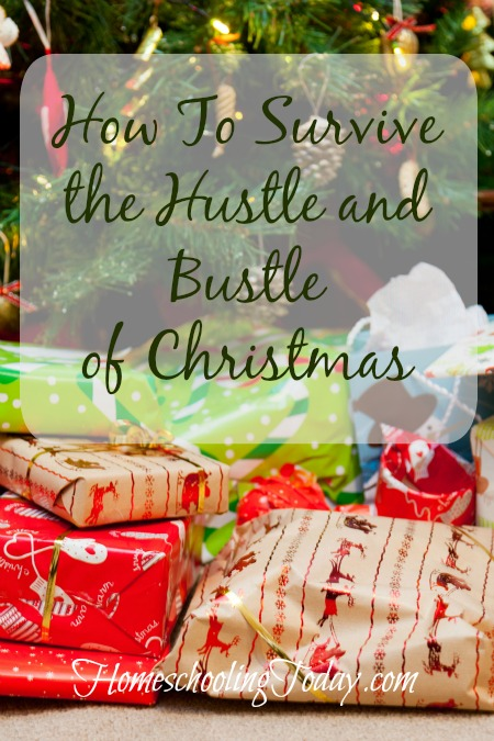 How To Survive The Hustle and Bustle of Christmas