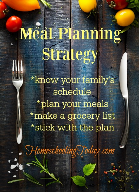 Meal Planning Strategy