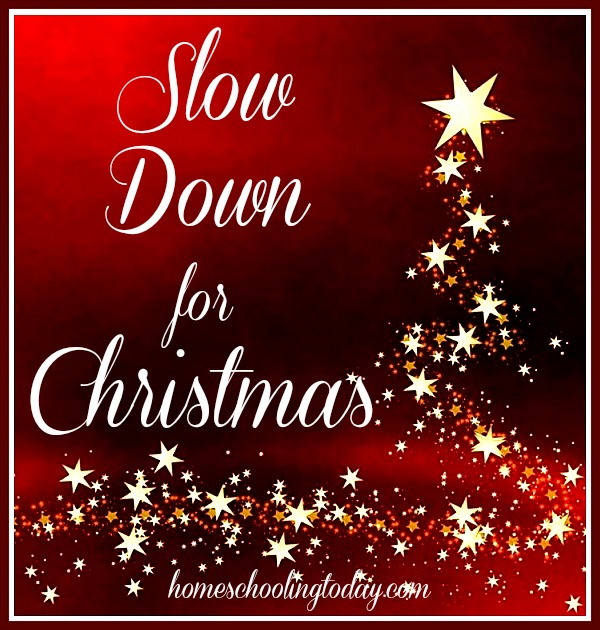Slow Down For Christmas