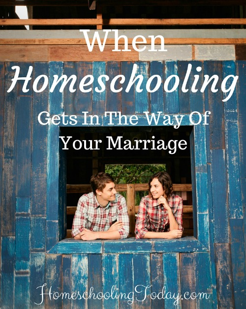When homeschooling gets in the way of your marriage - Homeschooling Today Magazine