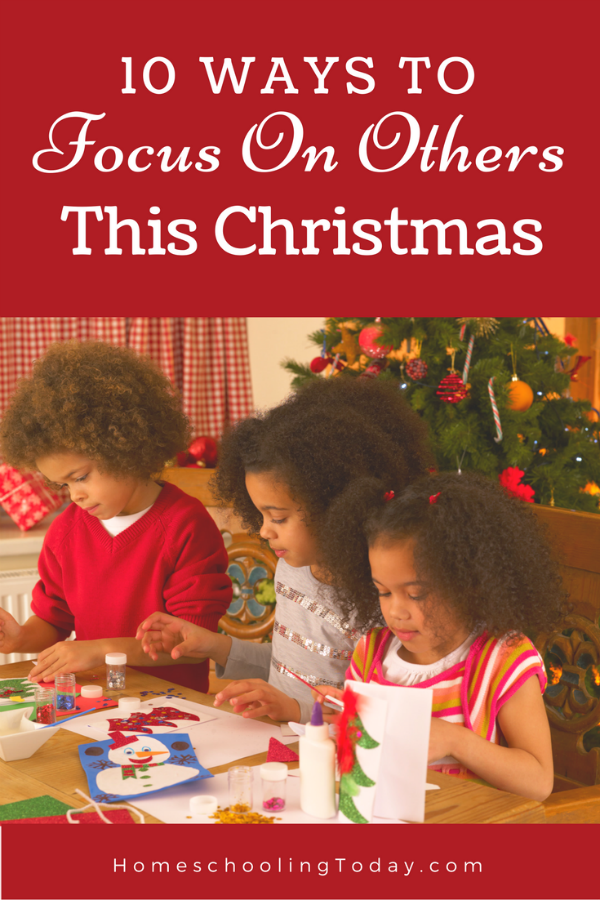 10 Ways To Focus On Others This Christmas