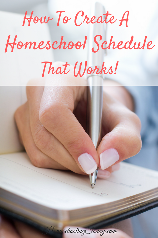 How to Create a Homeschool Schedule that Works - Homeschooling Today Magazine