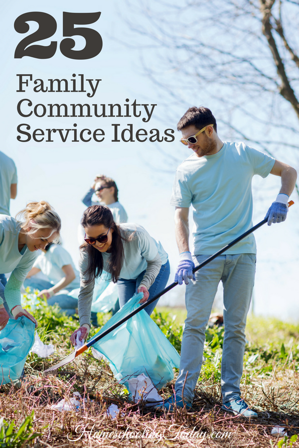 Family community service ideas