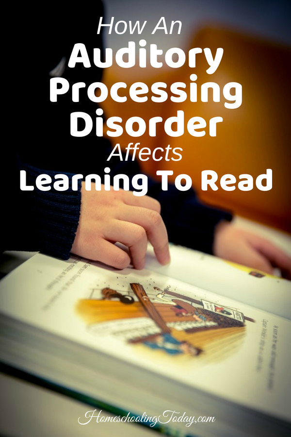How an auditory processing disorder affects learning to read